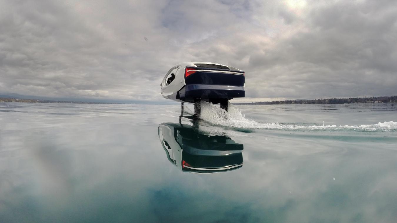 Le SeaBubbles sera-t-il le transport de demain sur le lac Léman ?