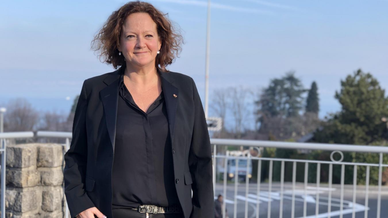 La maire de Neuvecelle est également la présidente du Cluster Eau, un organisme destiné à préserver et promouvoir l'eau du territoire.
