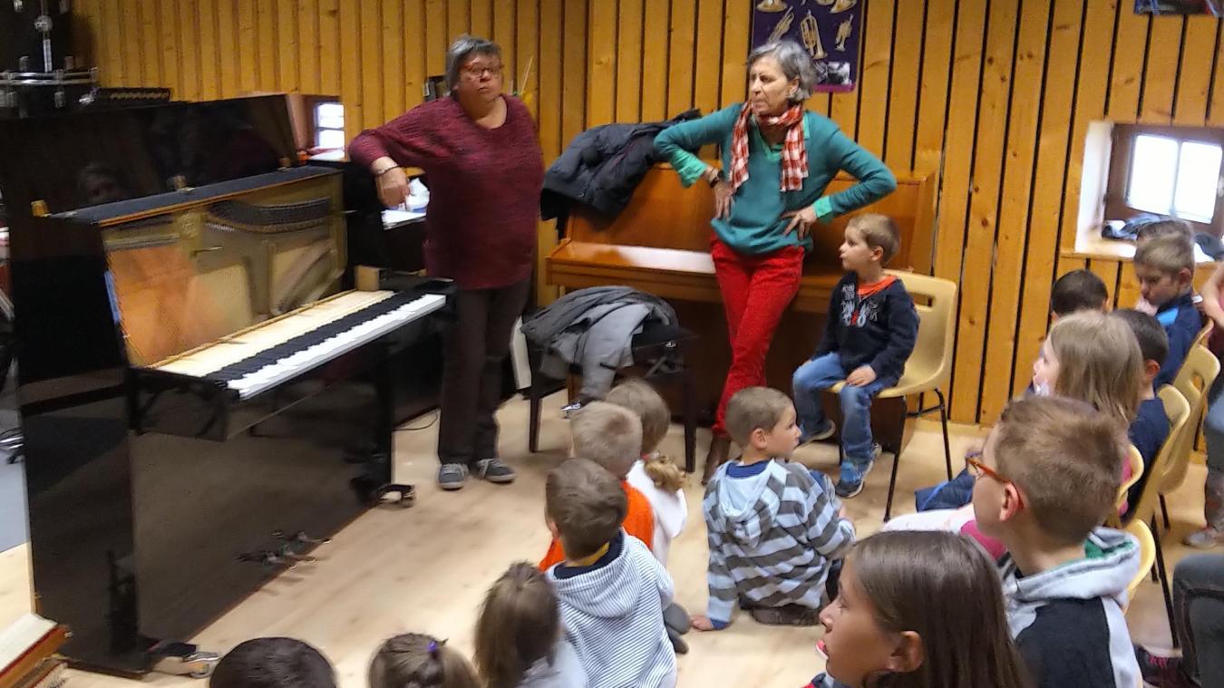 Le jardin musical et l'éveil musical sont destinés aux enfants à partir de 3 ans jusqu'au cours préparatoire.