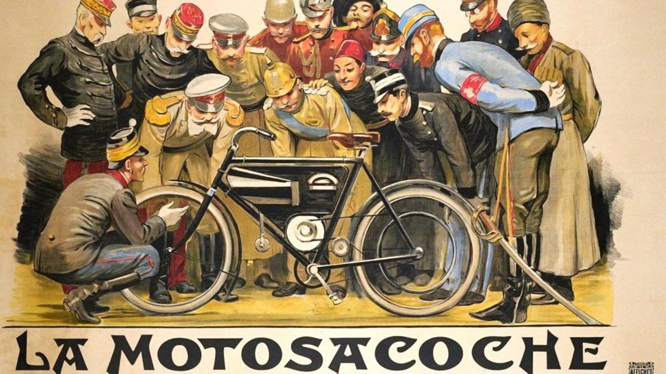 La formidable aventure industrielle de la marque Motosacoche a commencé au début du XXe siècle, par un périple sur les chemins du Salève.