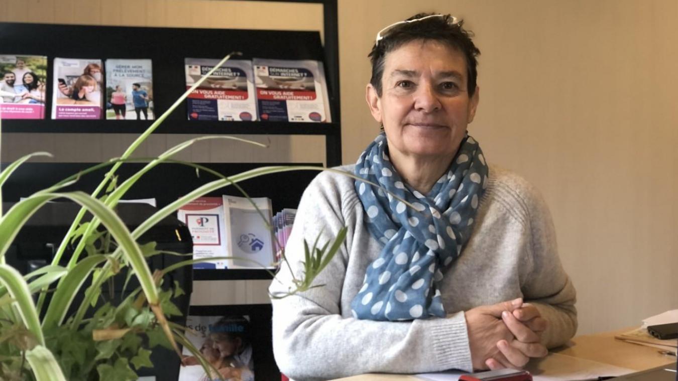 Le reste de la semaine, Chantal Bourreau est présente à la Maison France Service de Montriond.