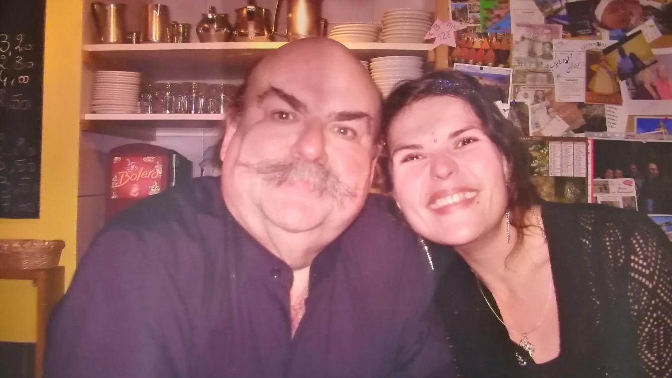 Guy Bilbaud et sa fille Amandine.