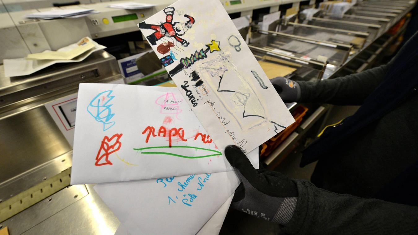 Il suffira d'écrire «Père Noël» sur l'enveloppe pour qu'elle arrive à destination. Et ne pas oublier d'indiquer son nom, son prénom et son adresse complète pour recevoir la réponse.