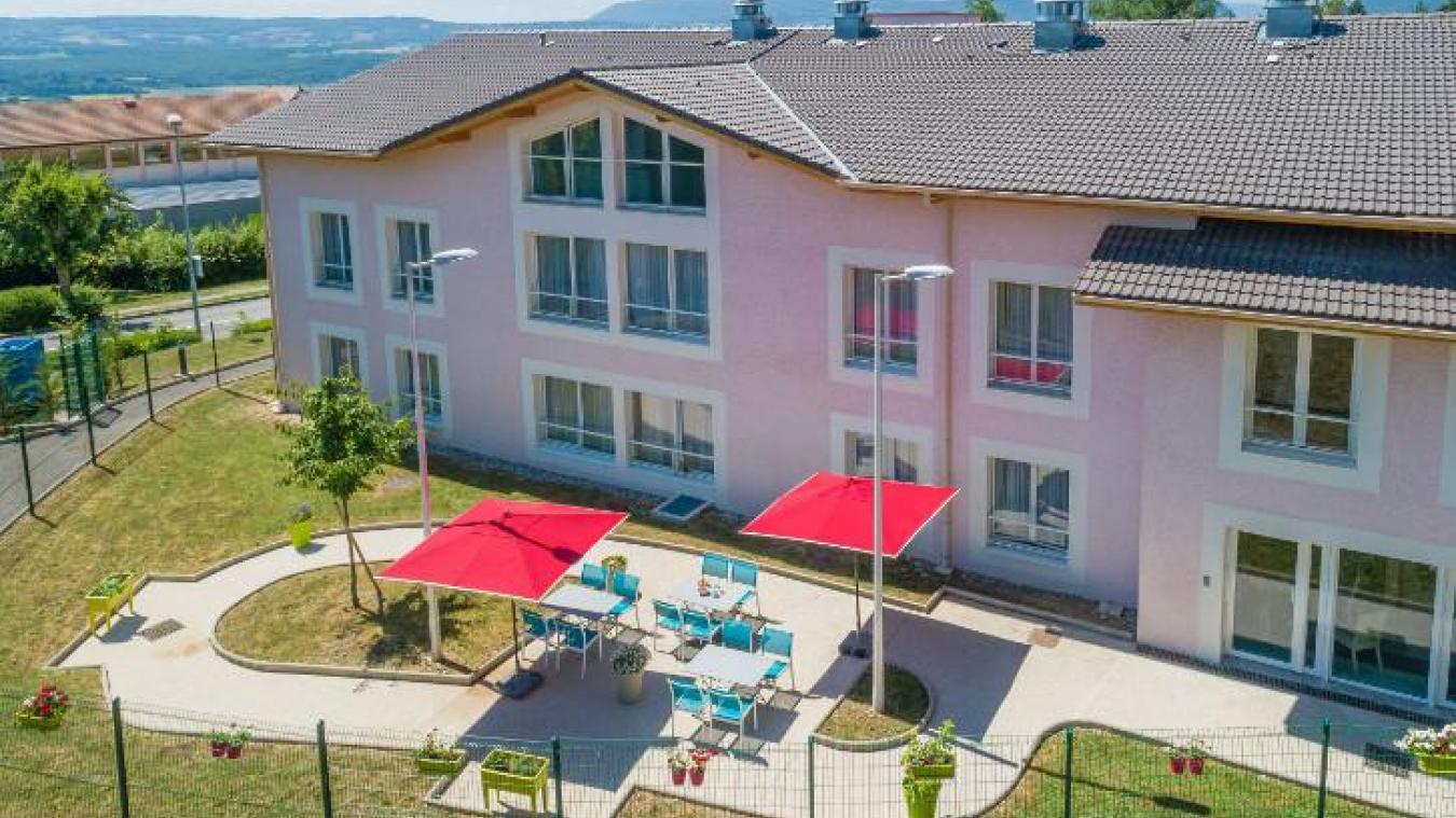 La résidence les Cyclamens a Challex compte 80 résidents.