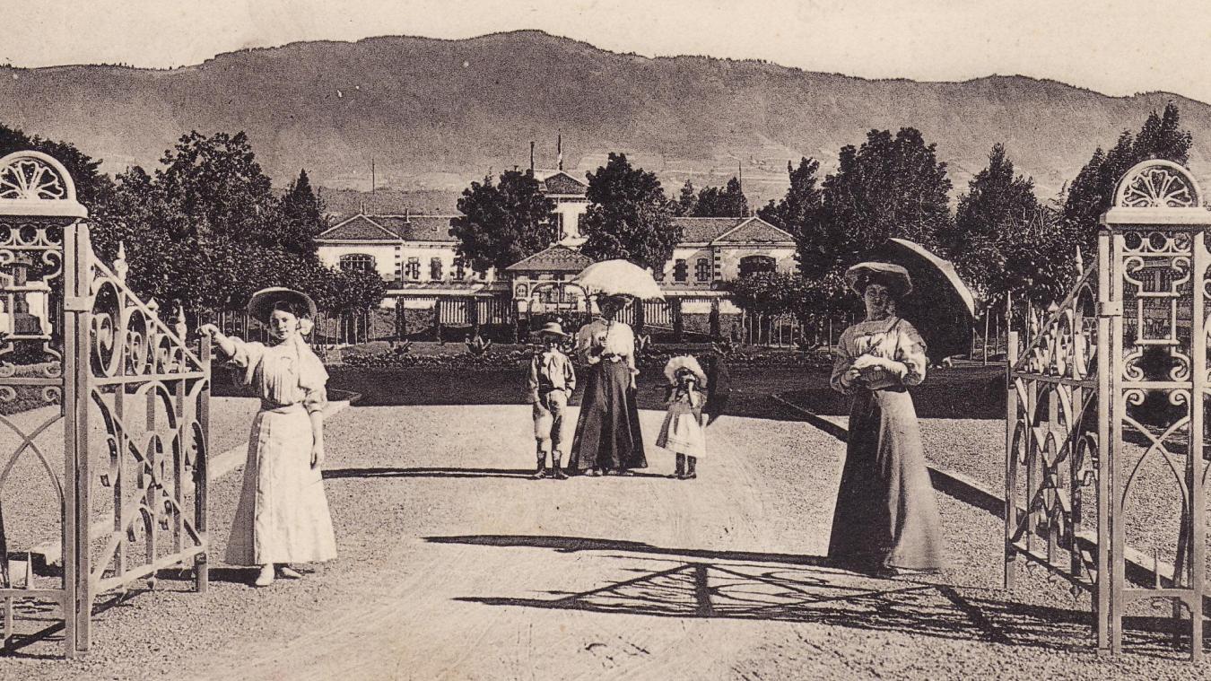 Le premier établissement thermal de Thonon est inauguré en 1887.