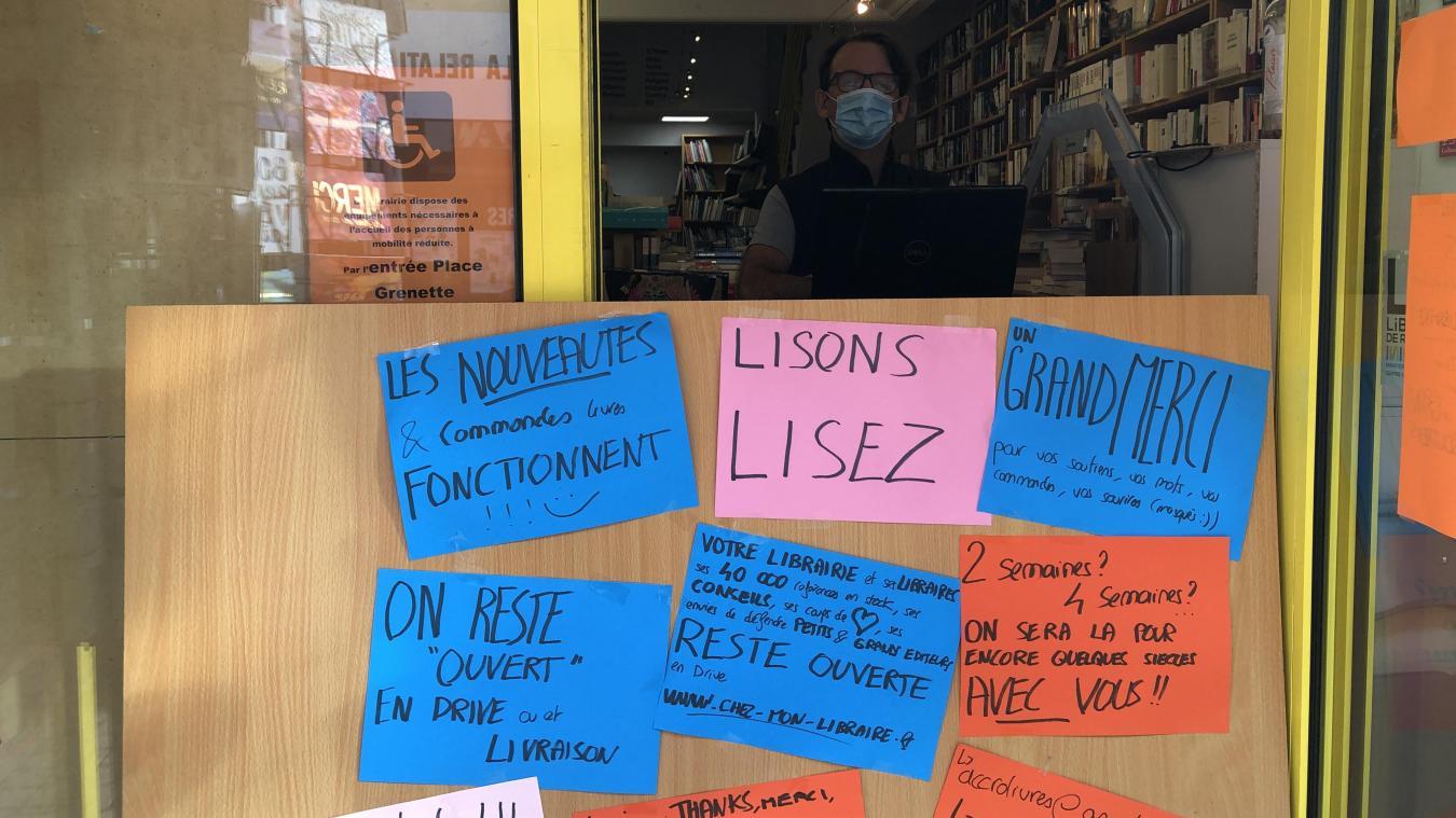 Albertville: avec Click&Collect, les librairies indépendantes défendent leur activité
