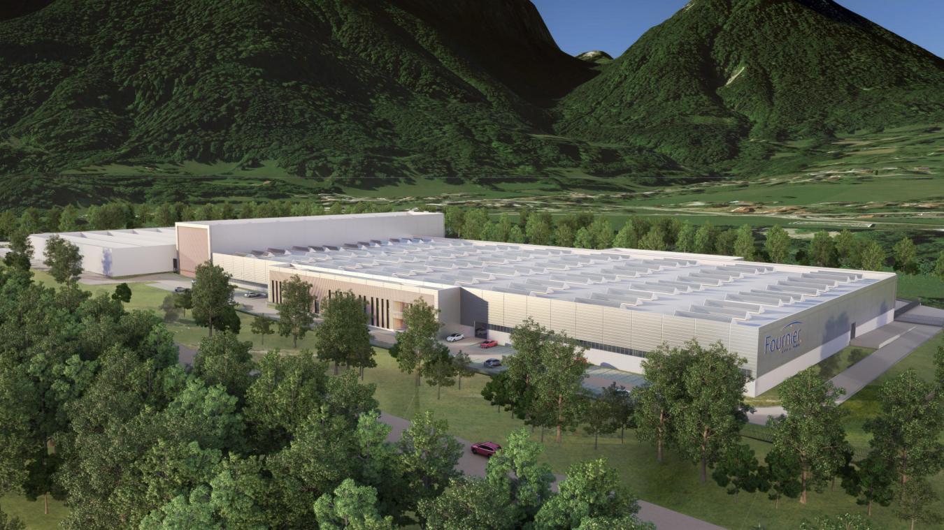 La nouvelle usine du groupe Fournier devait être implantée dans la zone artisanale du Vernay et être opérationnelle en septembre 2022.