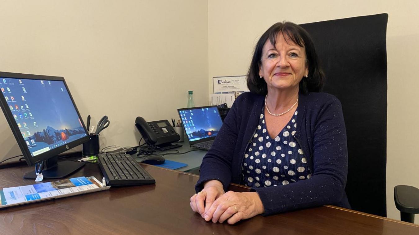 Martine Jouannet est la nouvelle maire de Crozet.