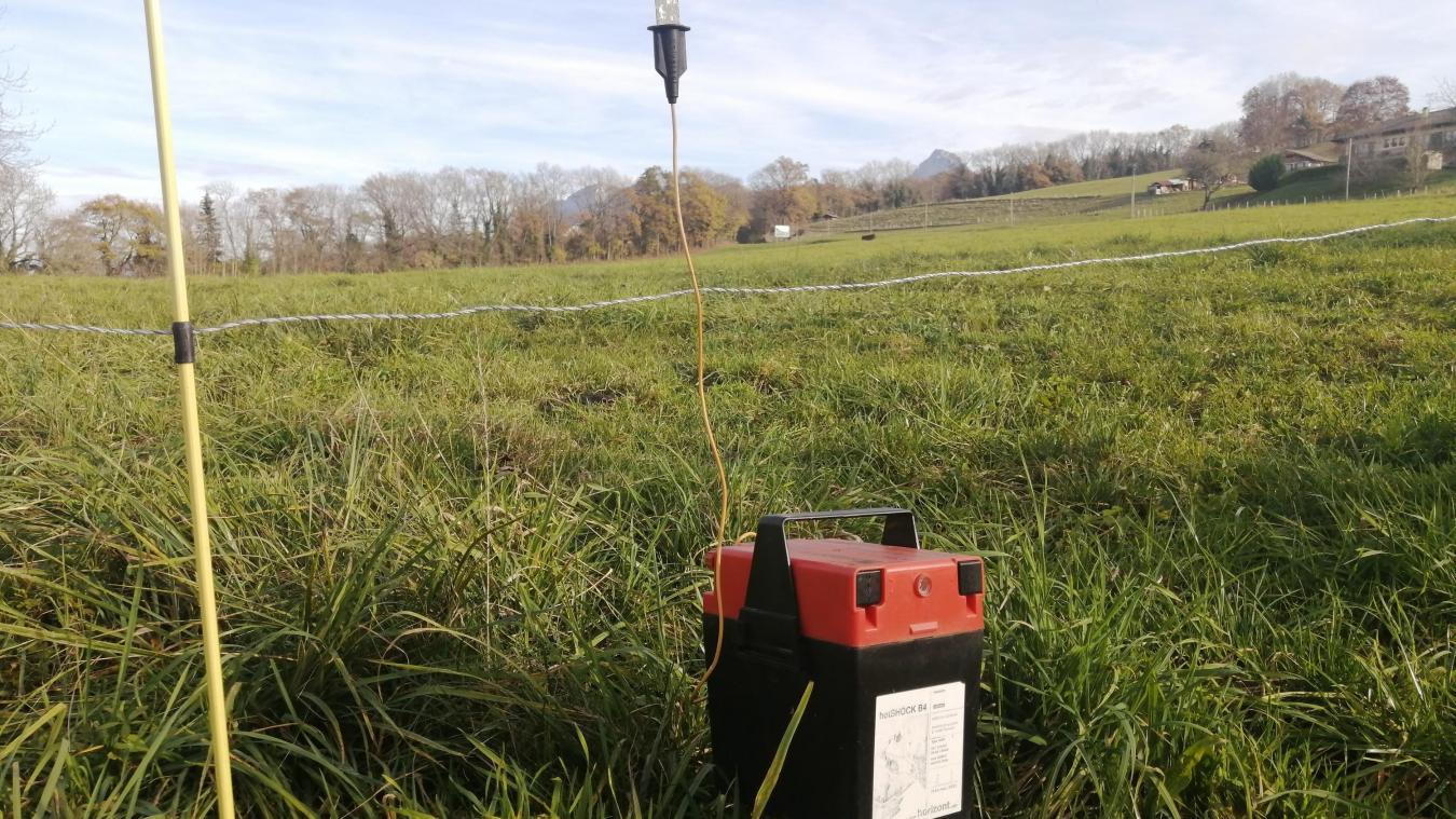 Ces postes permettent d'électrifier les clôtures des champs.