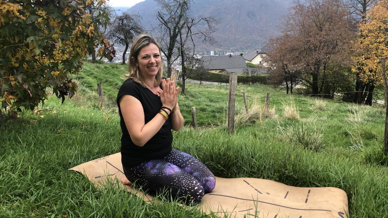 Le matin, Pascaline débute sa journée par une méditation: «Petit à petit, cette pratique a changé ma vie».