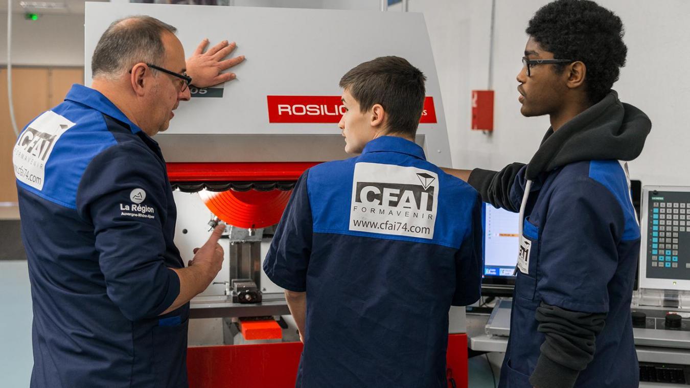 CFAI de Thyez: 40 ans de formation au service de l'industrie