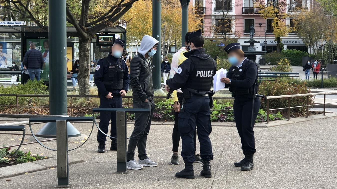 1315 contrôles ont été effectués par la police en Haute-Savoie sur les deux premières semaines de confinement.
