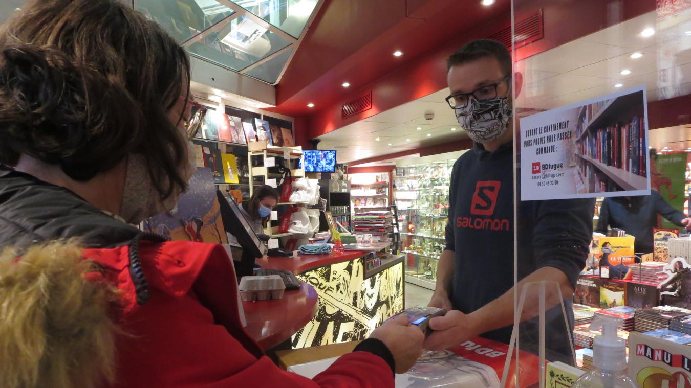 Le click & collect est une bonne façon pour les commerçants de garder le contact physique avec leurs clients.
