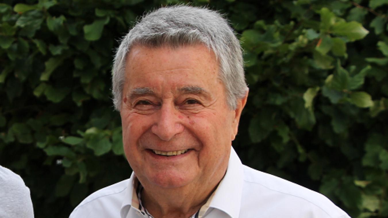 Pierre Tholas, nouveau président du Rotary club valserhônois, pour un an.
