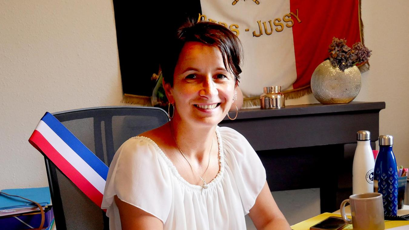 Isabelle Roguet, la nouvelle maire de Pers-Jussy.