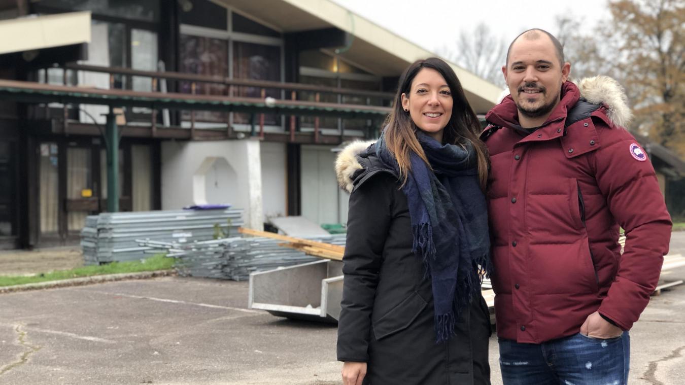 Clémence Gomez et Lionel Coignet sont également les gérants du restaurant Le Vent des Sables.