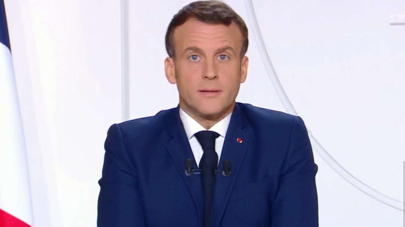 Emmanuel Macron s'est adressé aux Français mardi 24 novembre.