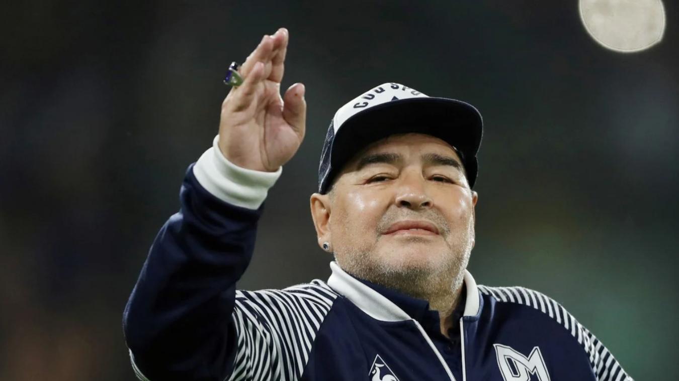 La légende du foot Maradona s'est éteinte.