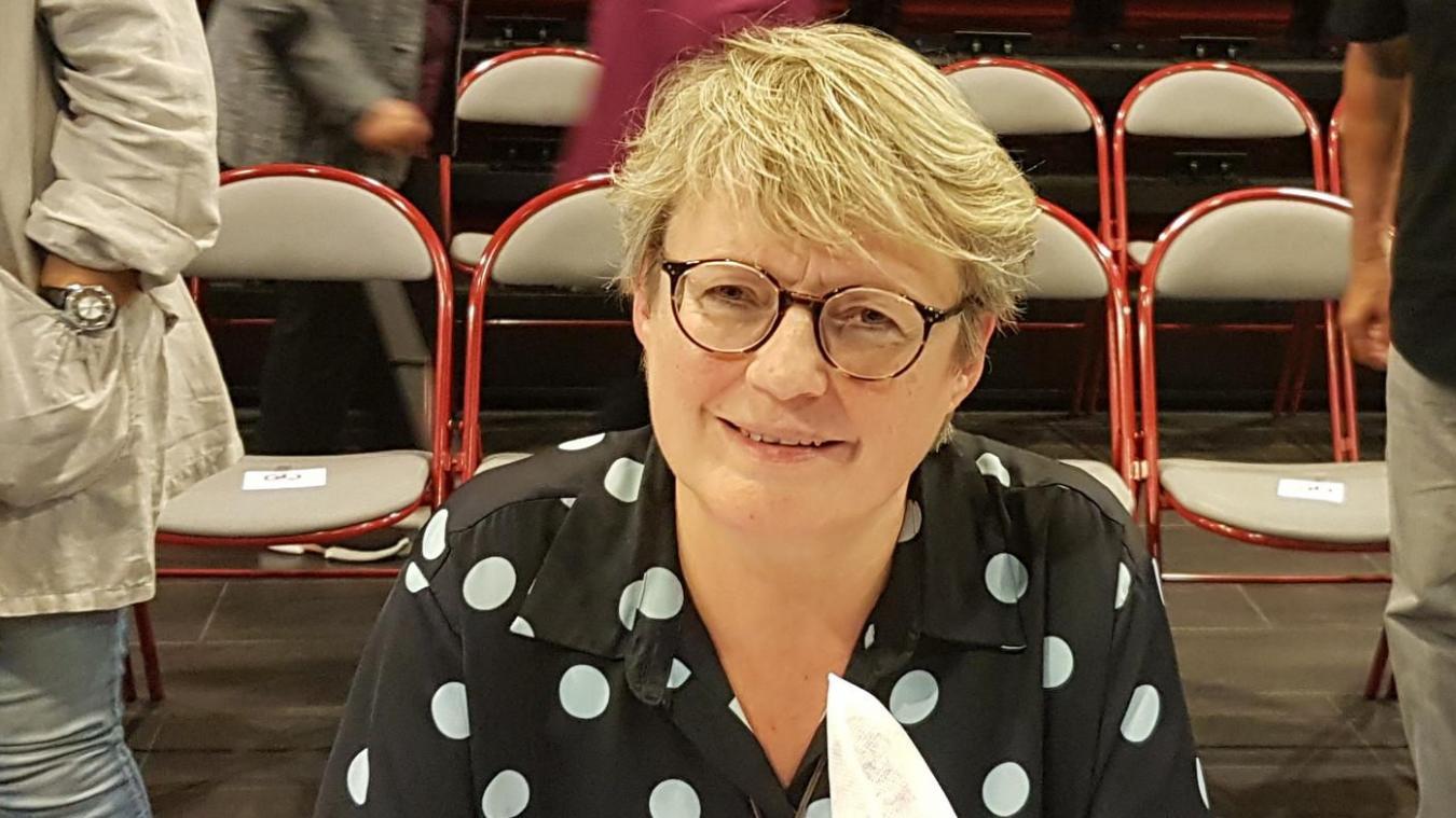 La maire de Saint-Julien, Véronique Le Cauchois.