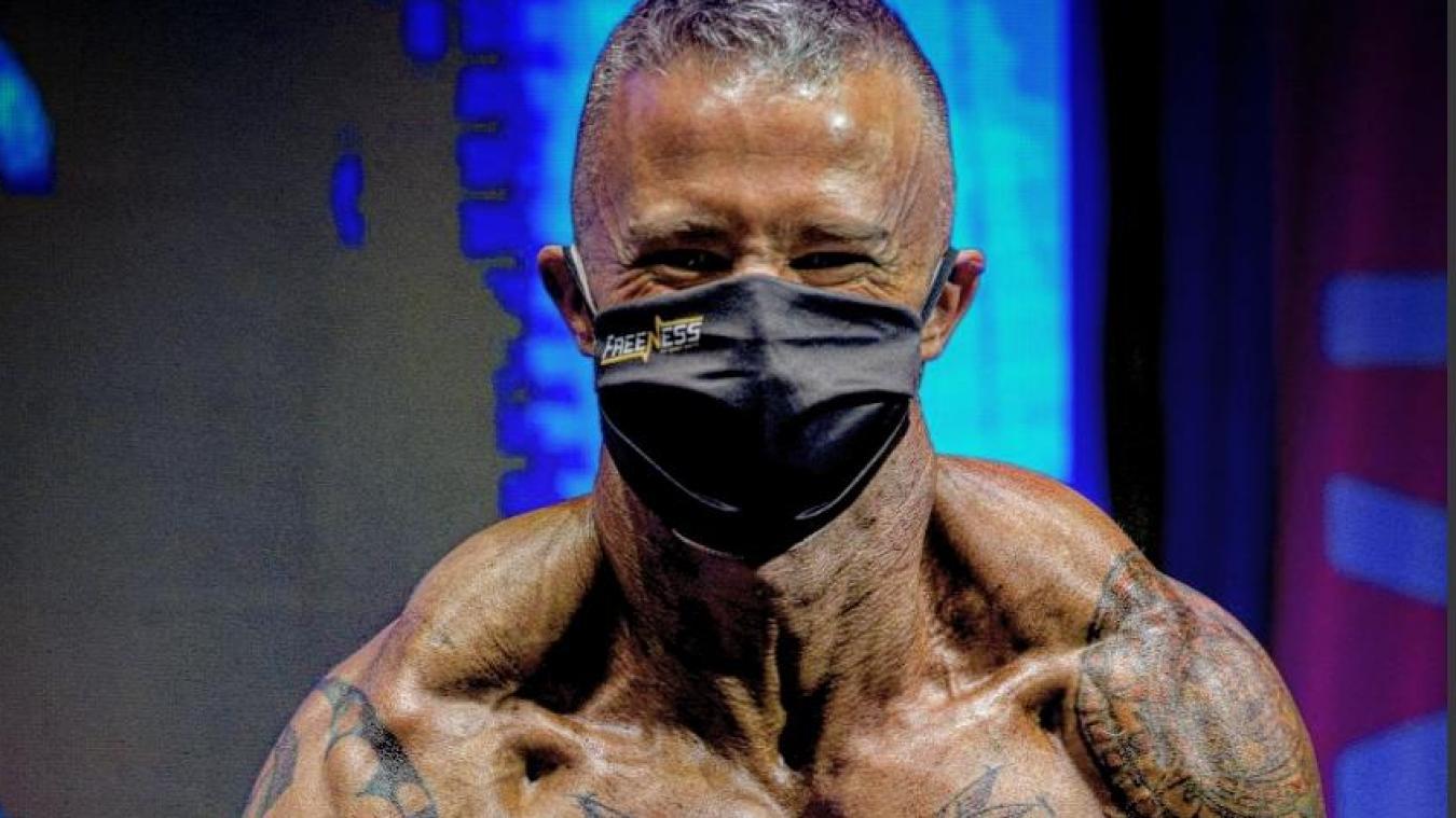 (Photos & vidéo) Bellegarde : ce bodybuilder valserhônois brave le confinement pour un titre européen