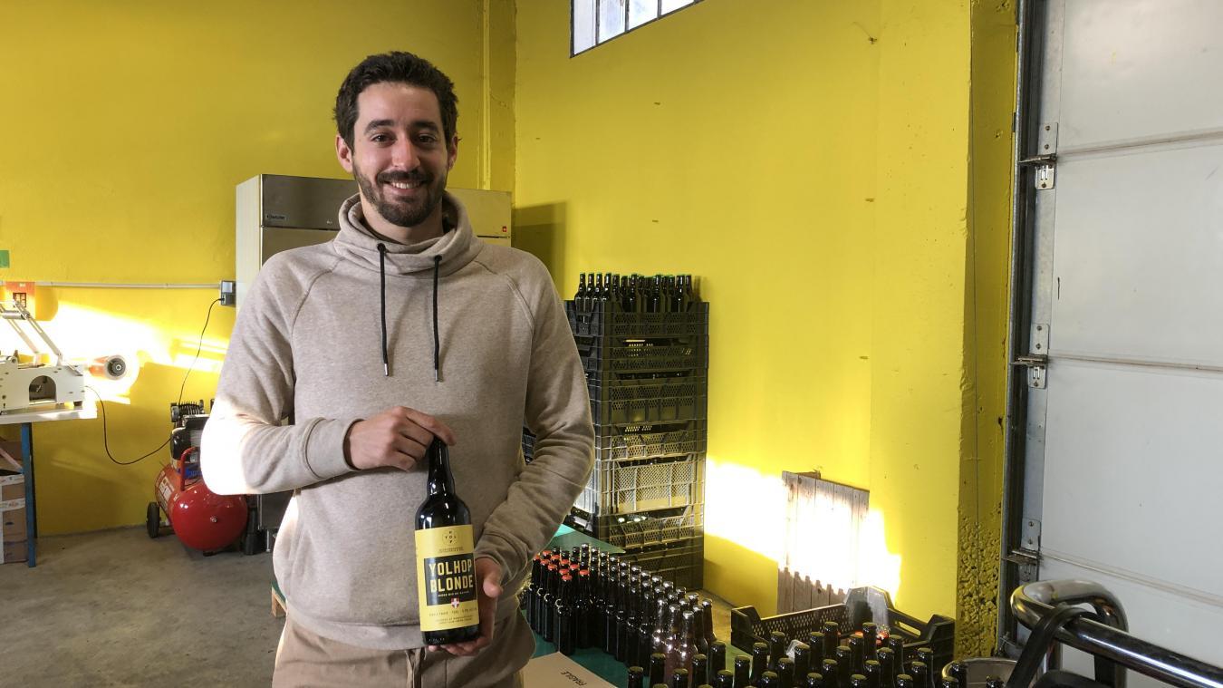 (vidéo) Grésy-sur-Isère : à 27 ans, il crée sa micro-brasserie