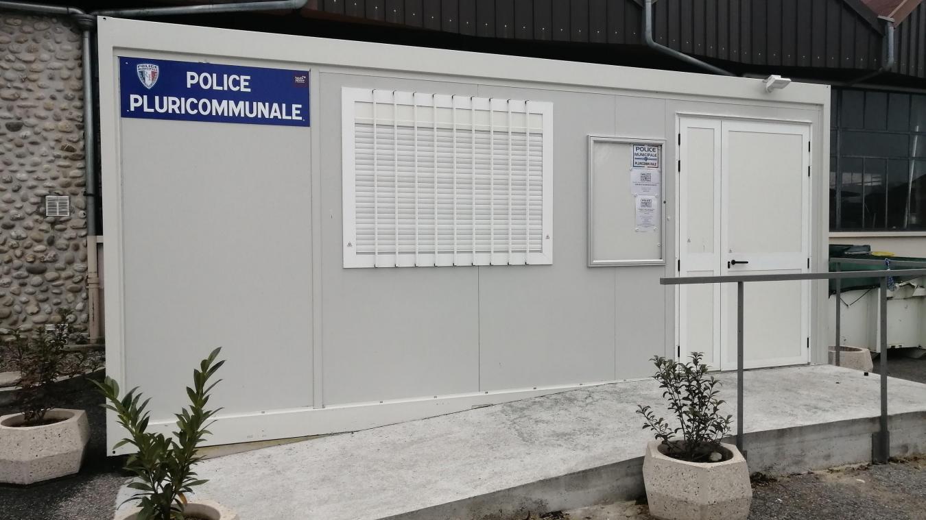Situé derrière la maison des associations de Neuvecelle, l'actuel local de la police pluricommunale devra déménager.