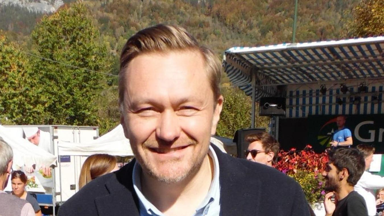 Nouvelle vie professionnelle pour Nicolas Evrard, maire de Servoz