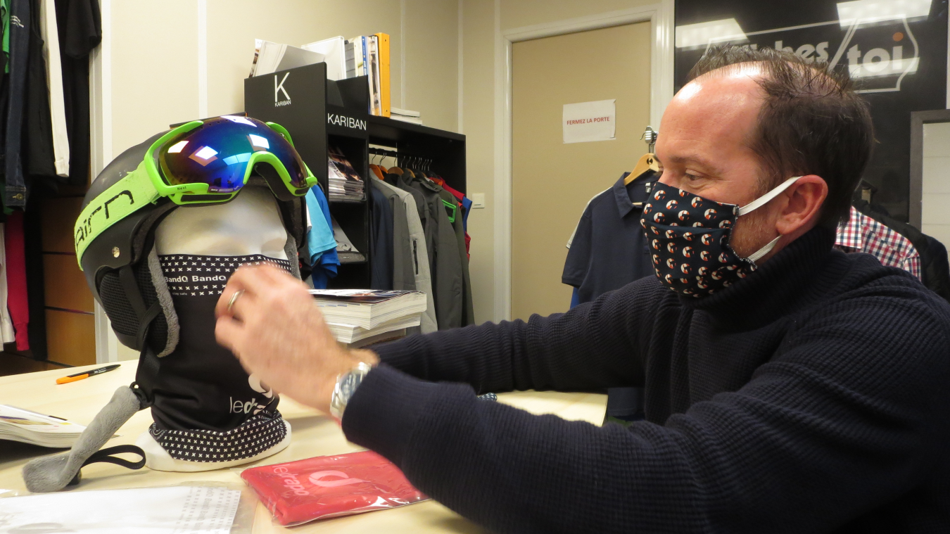 Le BandO2 a été homologué comme tour de cou masque barrière contre le coronavirus en septembre.