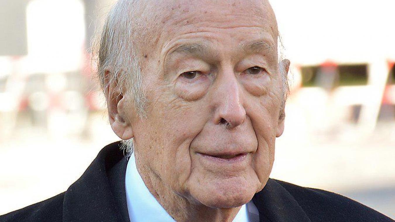 Valéry Giscard d'Estaing en 2015.