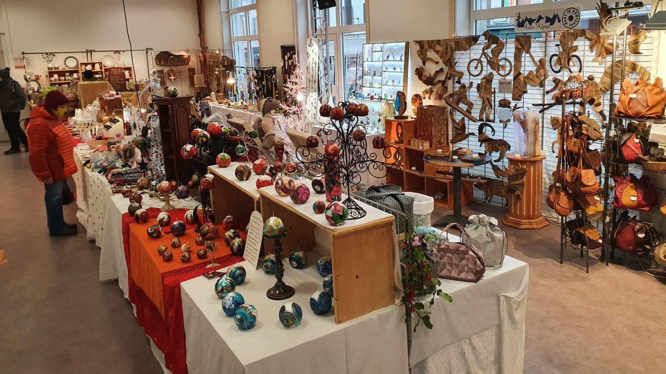 L'expo vente se déroulera jusqu'au 31 décembre, tous les jours de 10h à 19h, au 88 bis rue de la République.