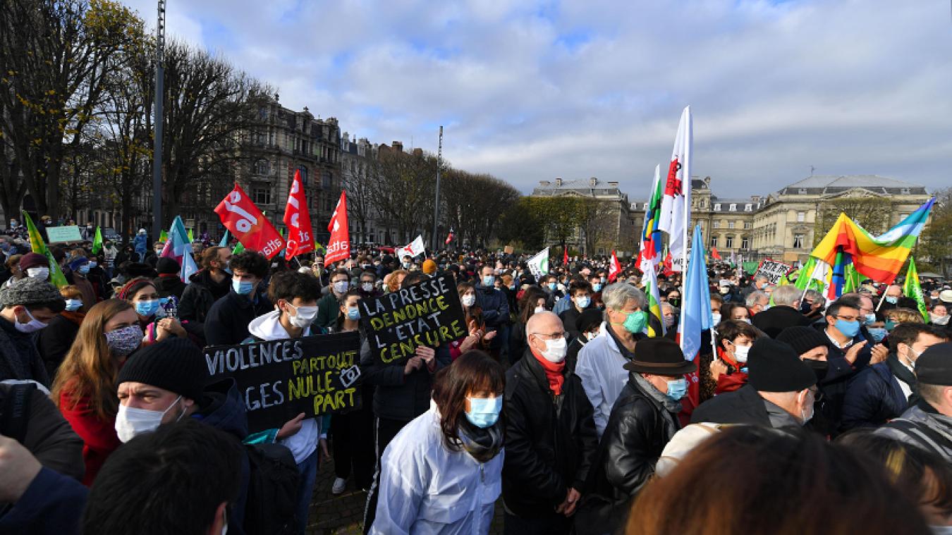 Des manifestations sont prévues dans de nombreuses villes, ce samedi 5 décembre. (Crédit photo: Florent Moreau / VDN)