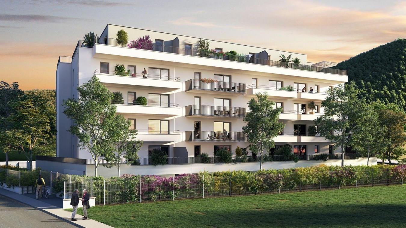 Les Balcons Étoilés, 33 appartements du T2 au T3, devraient être livrés 2e trimestre 2022. Il se situe rue Commandant Dubois entre la voie ferrée et la rue, en face de la mosquée.