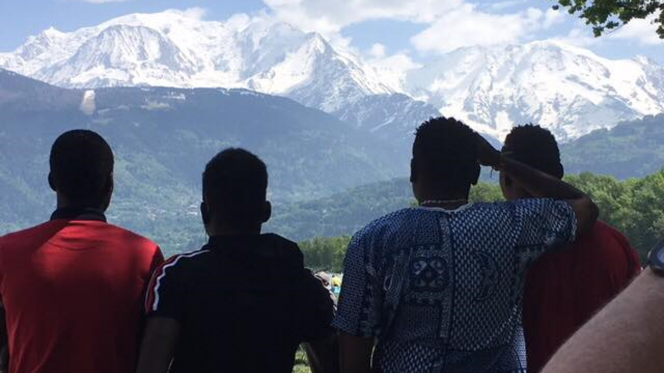 Arve Réfugiés aide notamment à l'hébergement de réfugiés qui parviennent à atteindre la vallée de l'Arve.