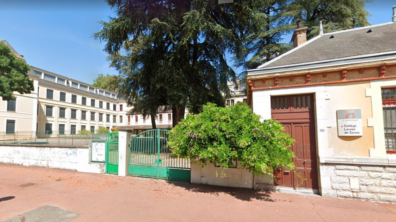 L'agression a eu lieu aux abords du collège Louise-de-Savoie de Chambéry.