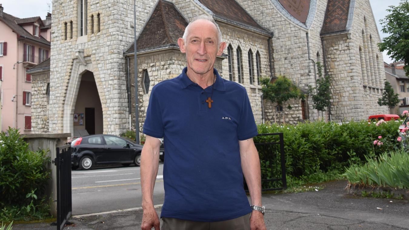 Prêtre de la paroisse Saint-Benoît des Nations d'Annemasse depuis 2011, le père Pierre Marmilloud est décédé ce lundi 7 décembre.