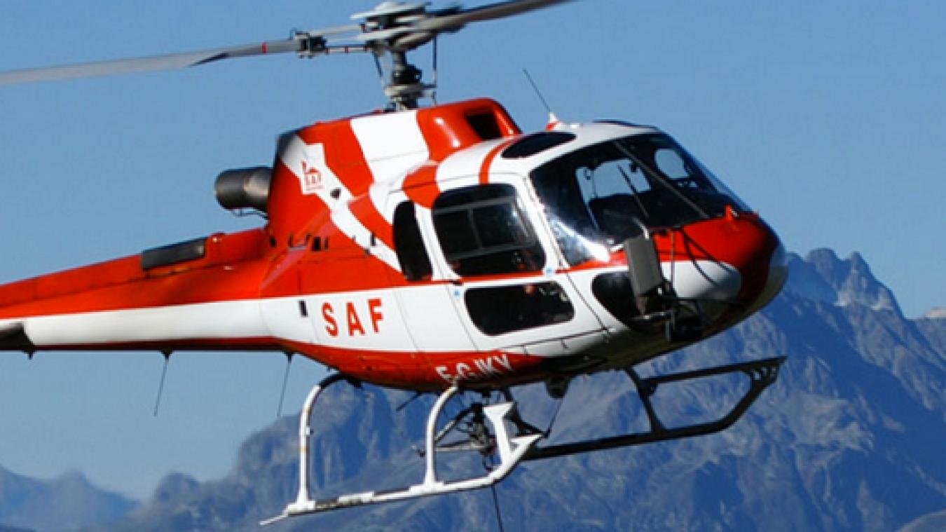 Bonvillard : un hélicoptère du SAF se crashe avec 6 personnes à bord