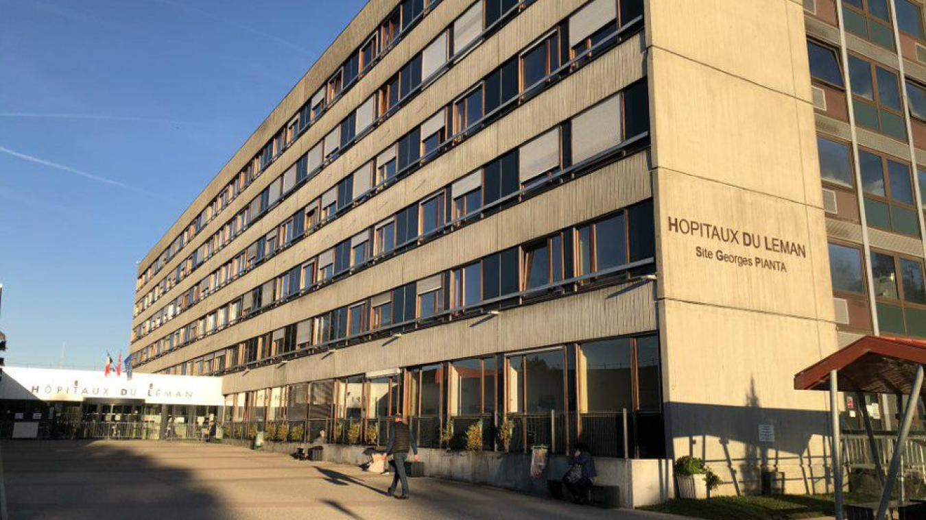 Pour le moment, l'unité Covid des Hôpitaux du Léman reste en place.