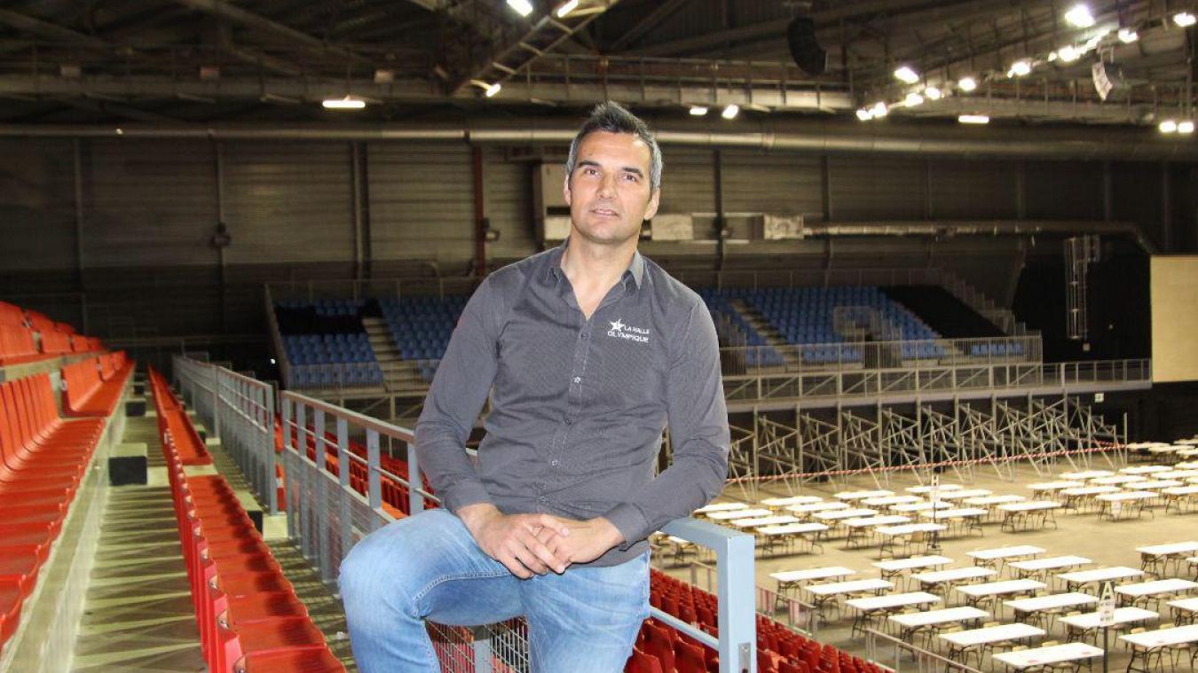 Pour Olivier Joly, directeur de la Halle olympique, et son équipe il n'est question de baisser les bras !