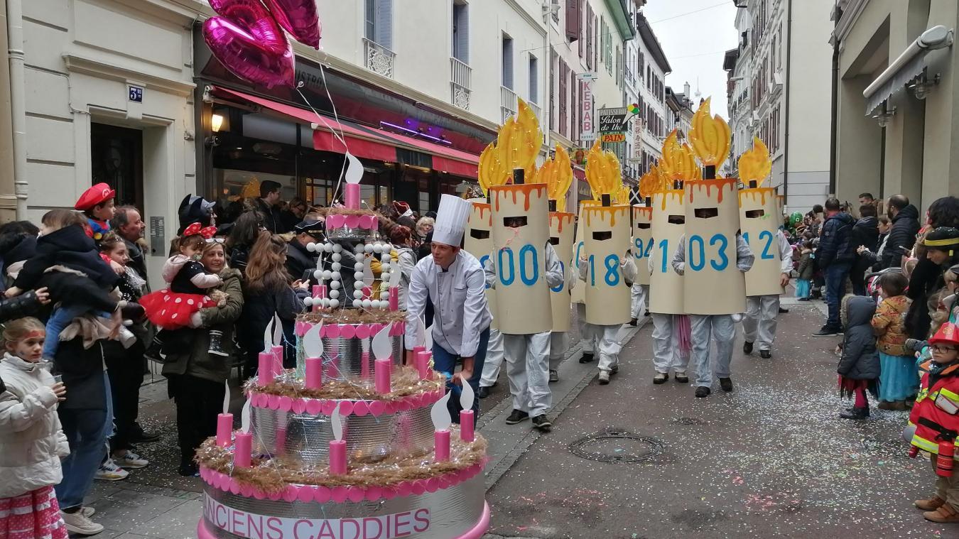 Sur deux jours en février, le carnaval d'Evian réuni chaque année plusieurs milliers de spectacteurs.