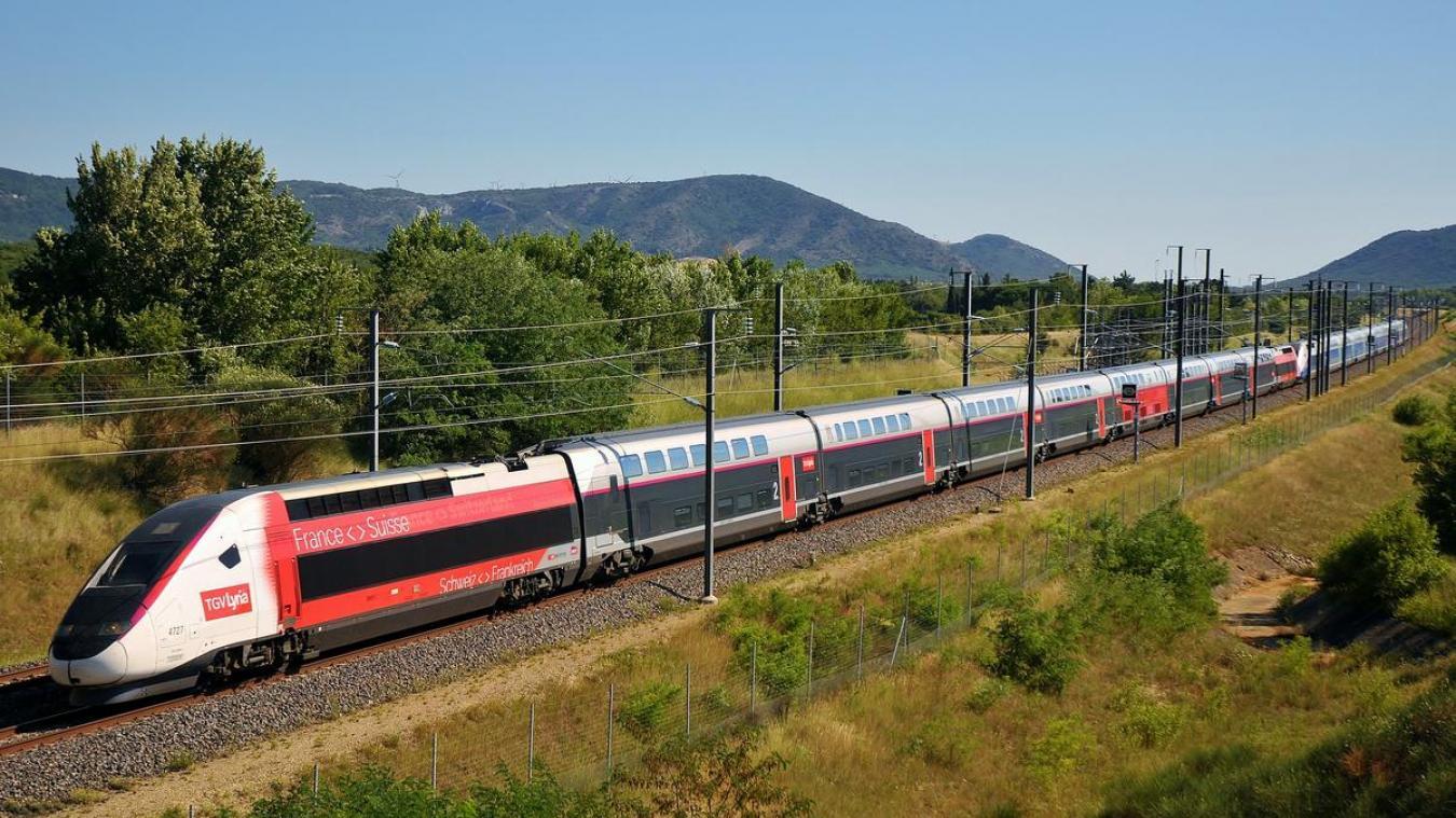 Les TGV Lyria seront plus nombreux à partir du 13 décembre, si les conditions sanitaires le permettent.