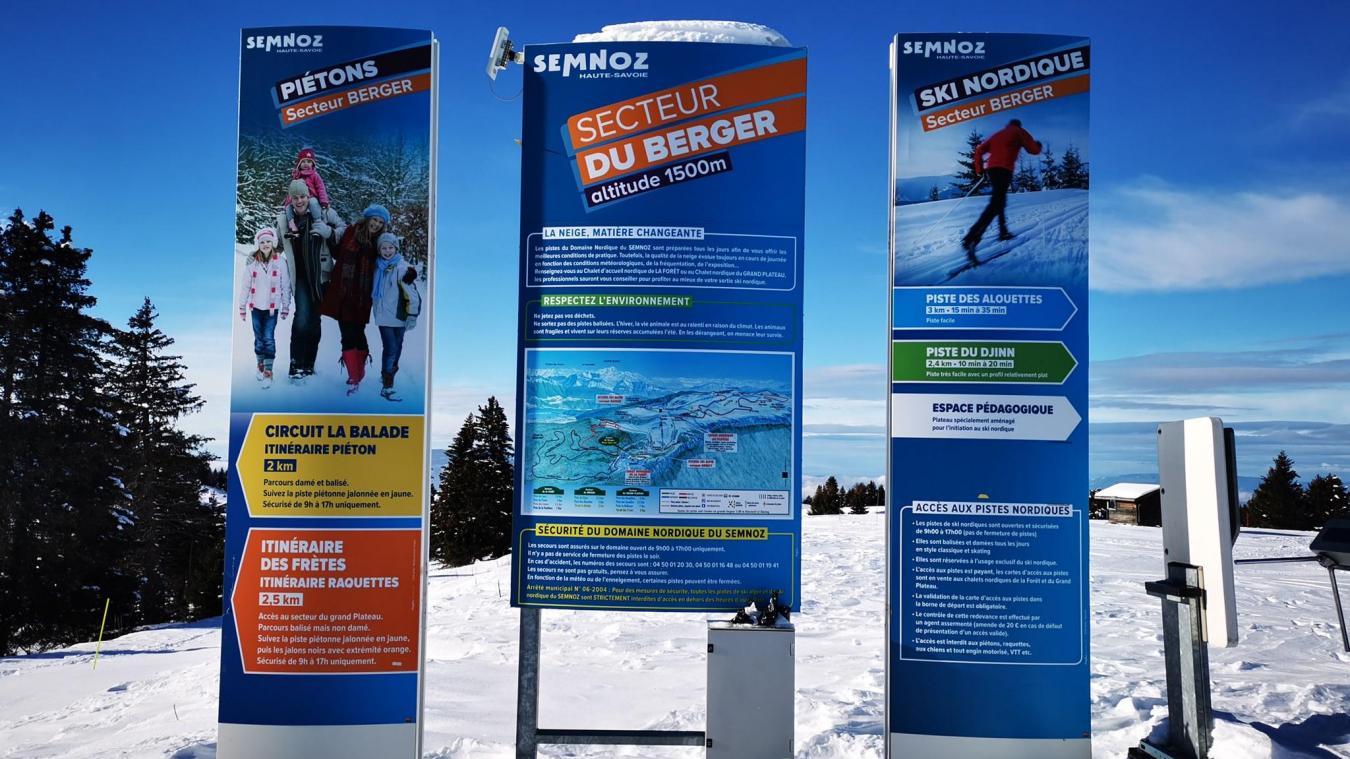 Le domaine nordique du Semnoz ouvrira en intégralité mercredi 16 décembre 2020.