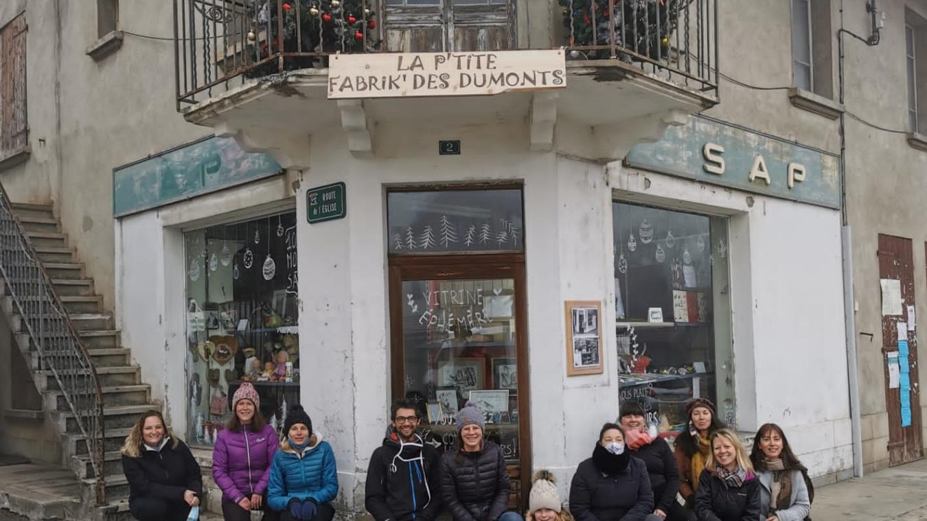 Mont-Saxonnex: quand une ancienne supérette devient une boutique éphémère pour artisans locaux