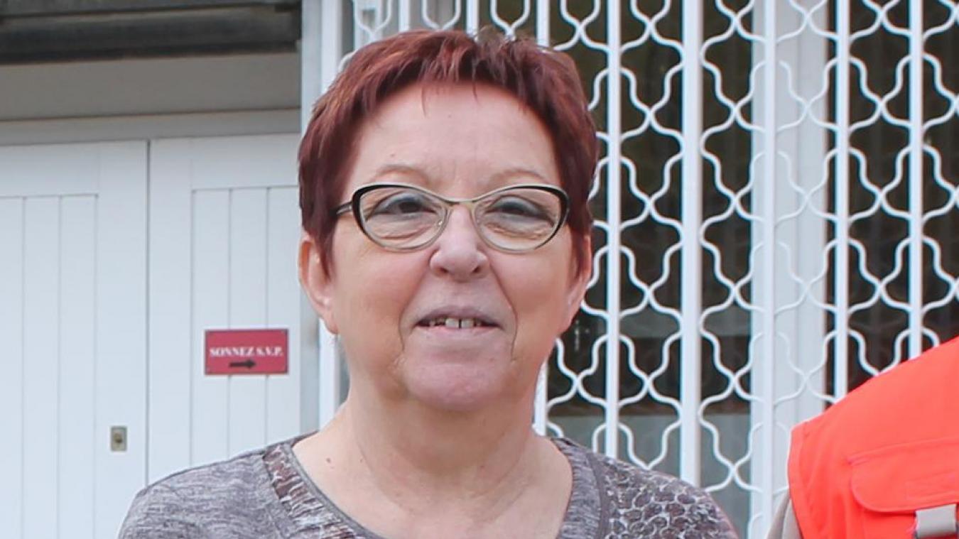 Jocelyne était un membre actif de l'unité locale de la Croix-Rouge.