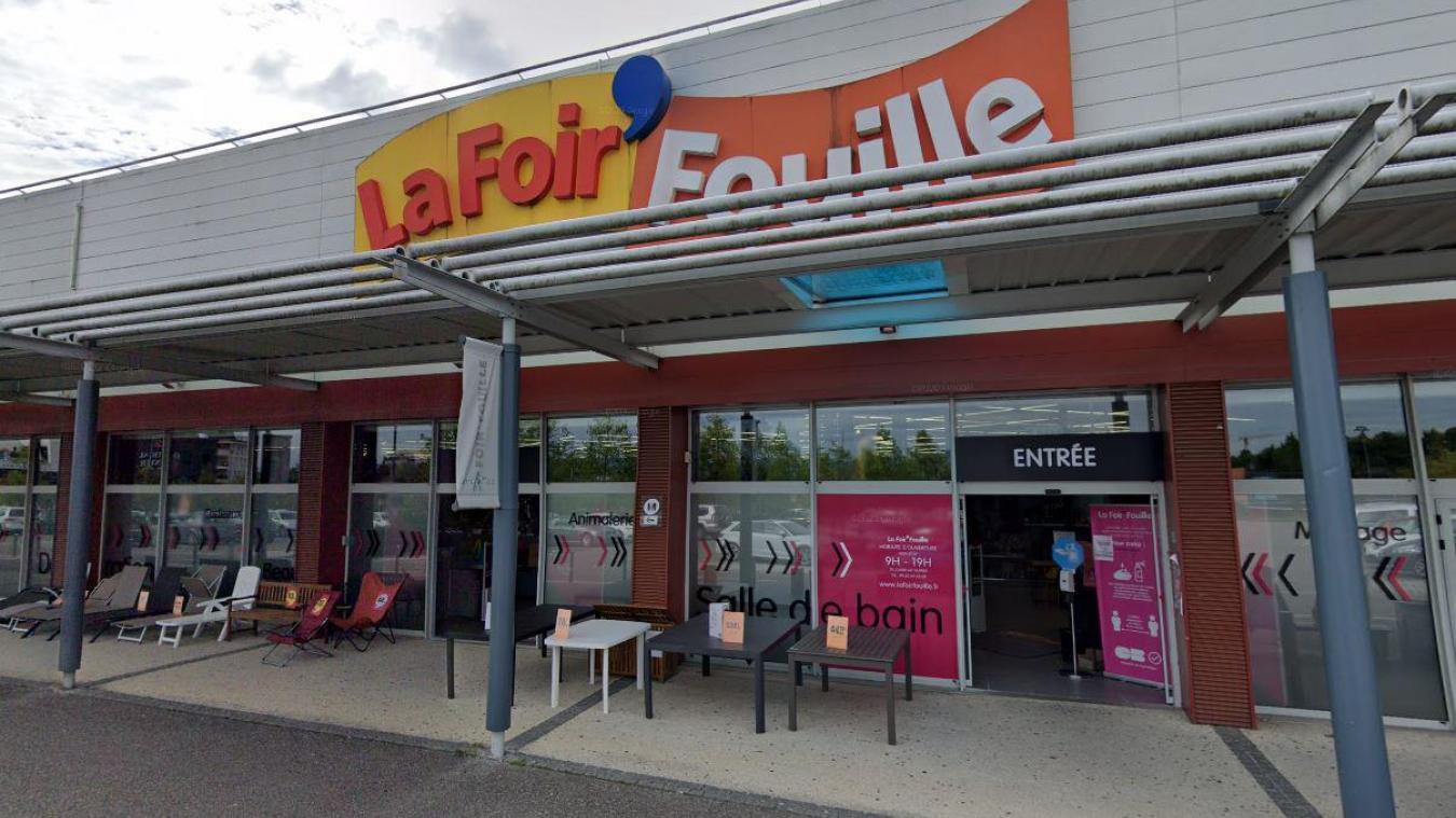 Le magasin est situé dans la zone commerciale de Cap Périaz. Photo: Google.