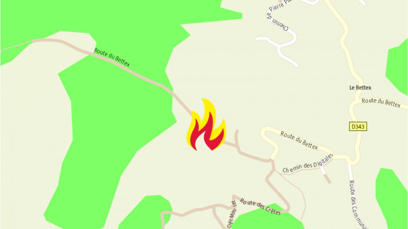 Saint-Gervais-les-Bains: une ferme rénovée de 200m2 totalement ravagée par les flammes