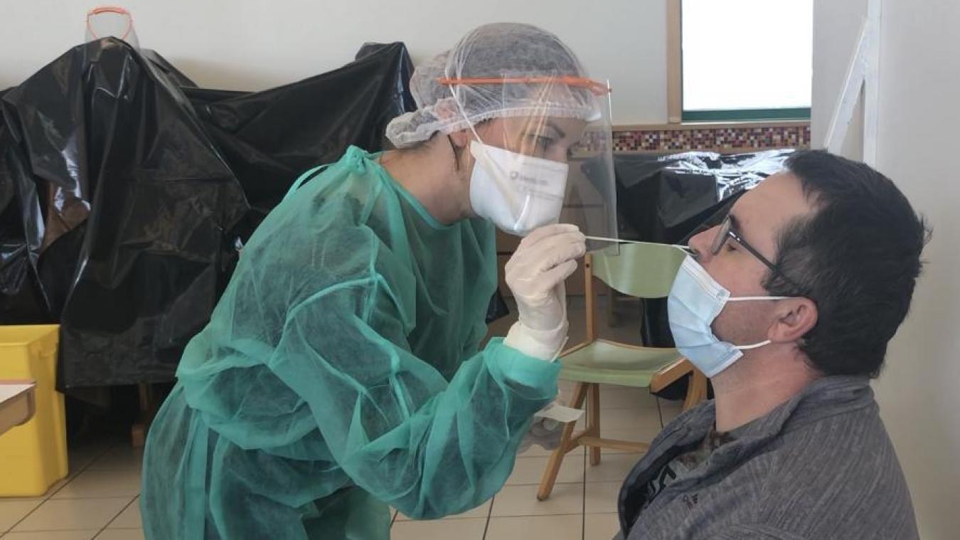 En novembre, Douvaine accueillait l'unique centre de dépistage du Chablais.