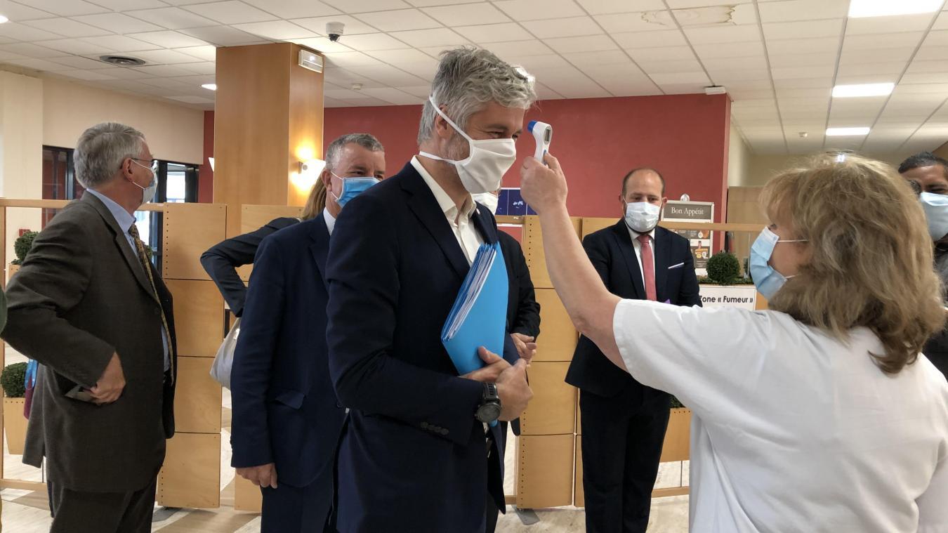 Laurent Wauquiez ne ferme pas la porte à l'idée de renouveler une campagne de dépistage massif en 2021.