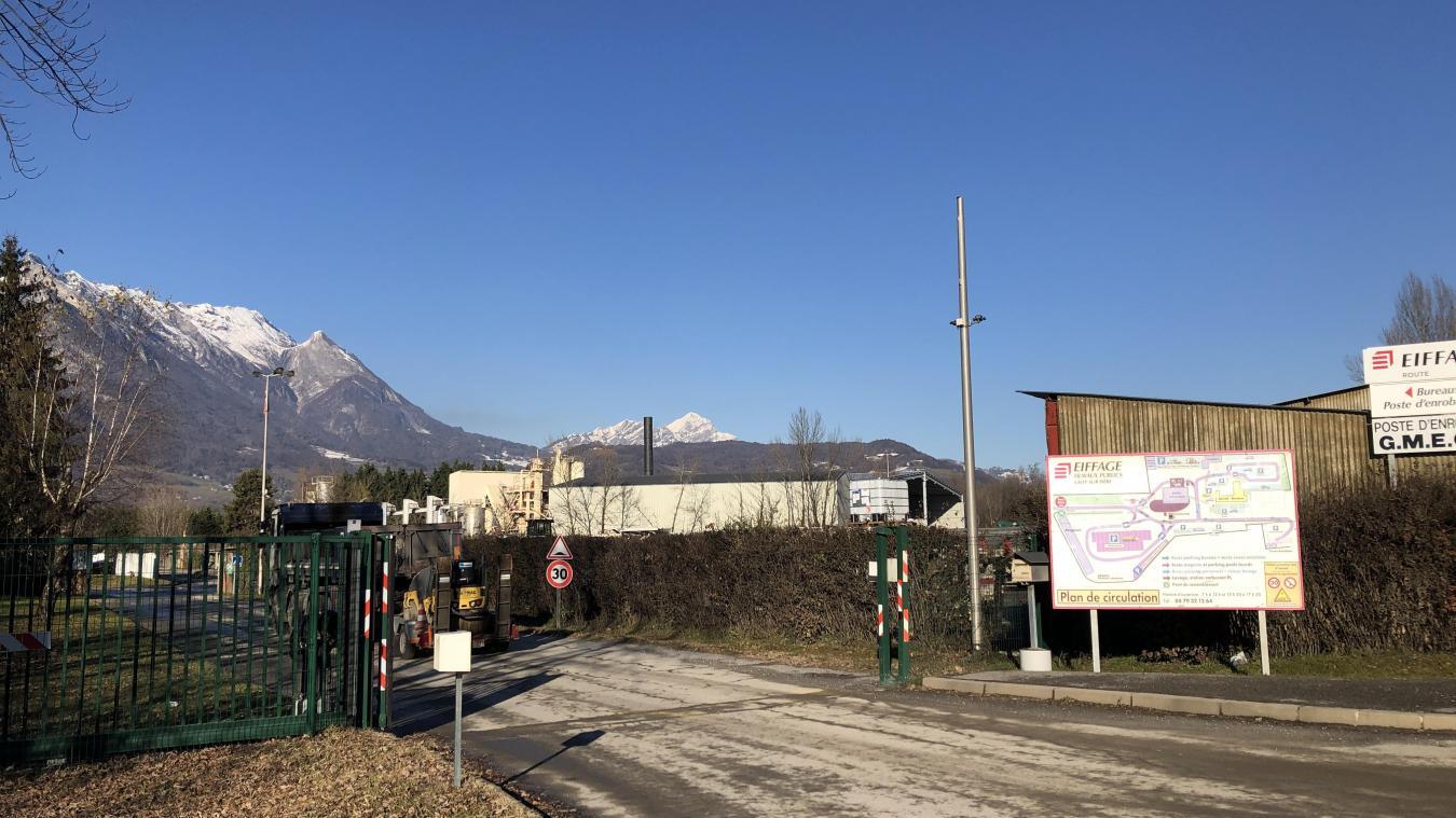 L'usine GMECS est localisée dans la zone d'activité de Terre-Neuve.