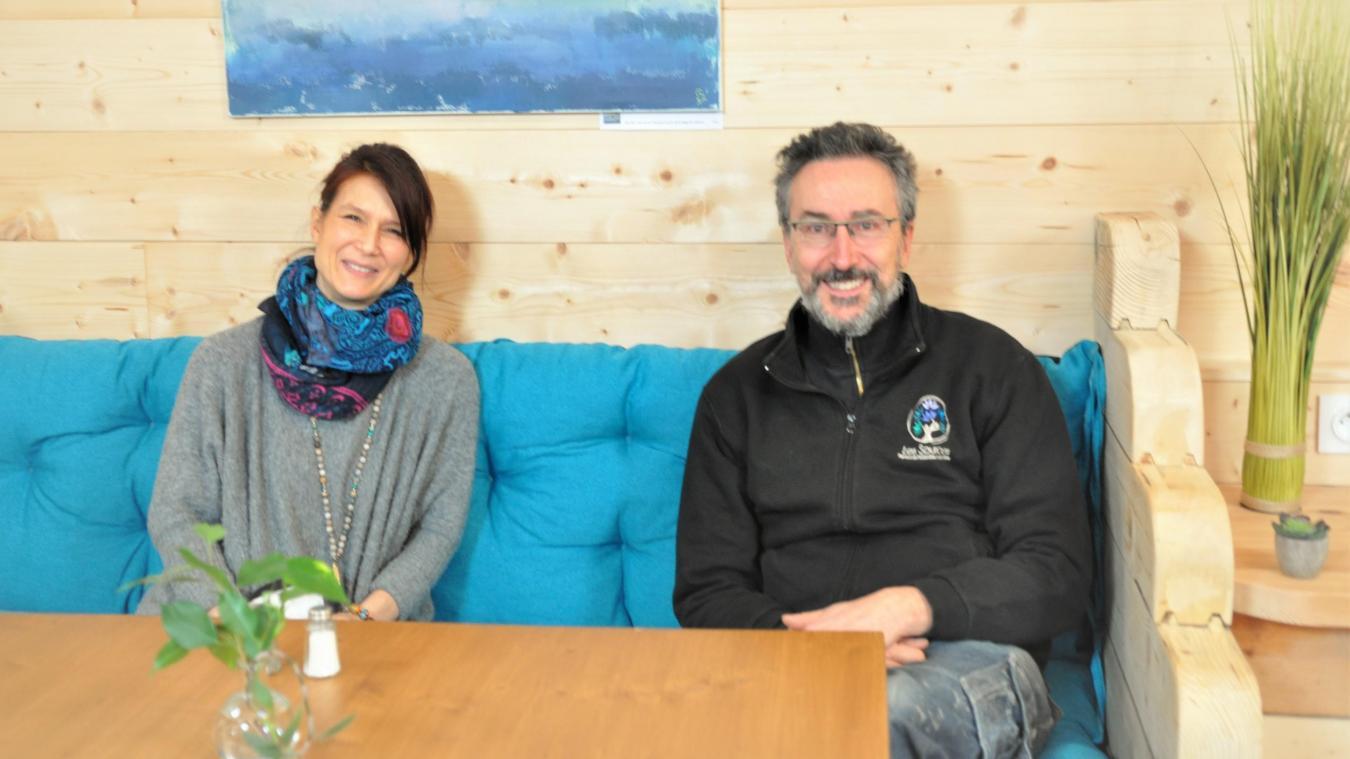 Annick et Damien Surand ont crée  Les Sources , un espace de bien-être animé par des professionnels de la médecine alternative.