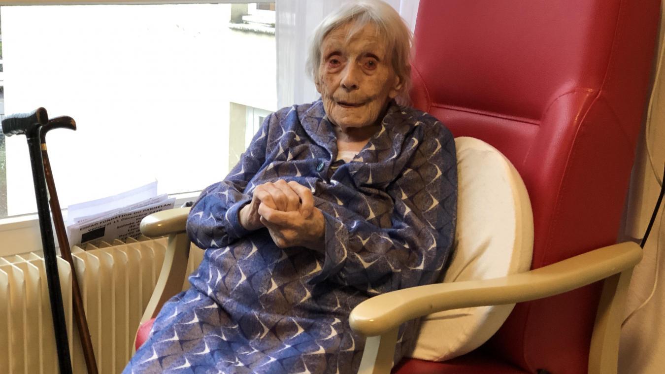 Léa Lavy, résidente de l'Ehpad du Parmelan, a résisté au coronavirus.